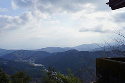 阿品弥山の山頂からの眺望