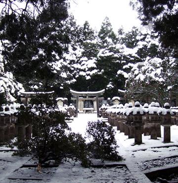 萩藩主 毛利家墓所(国指定・史跡)